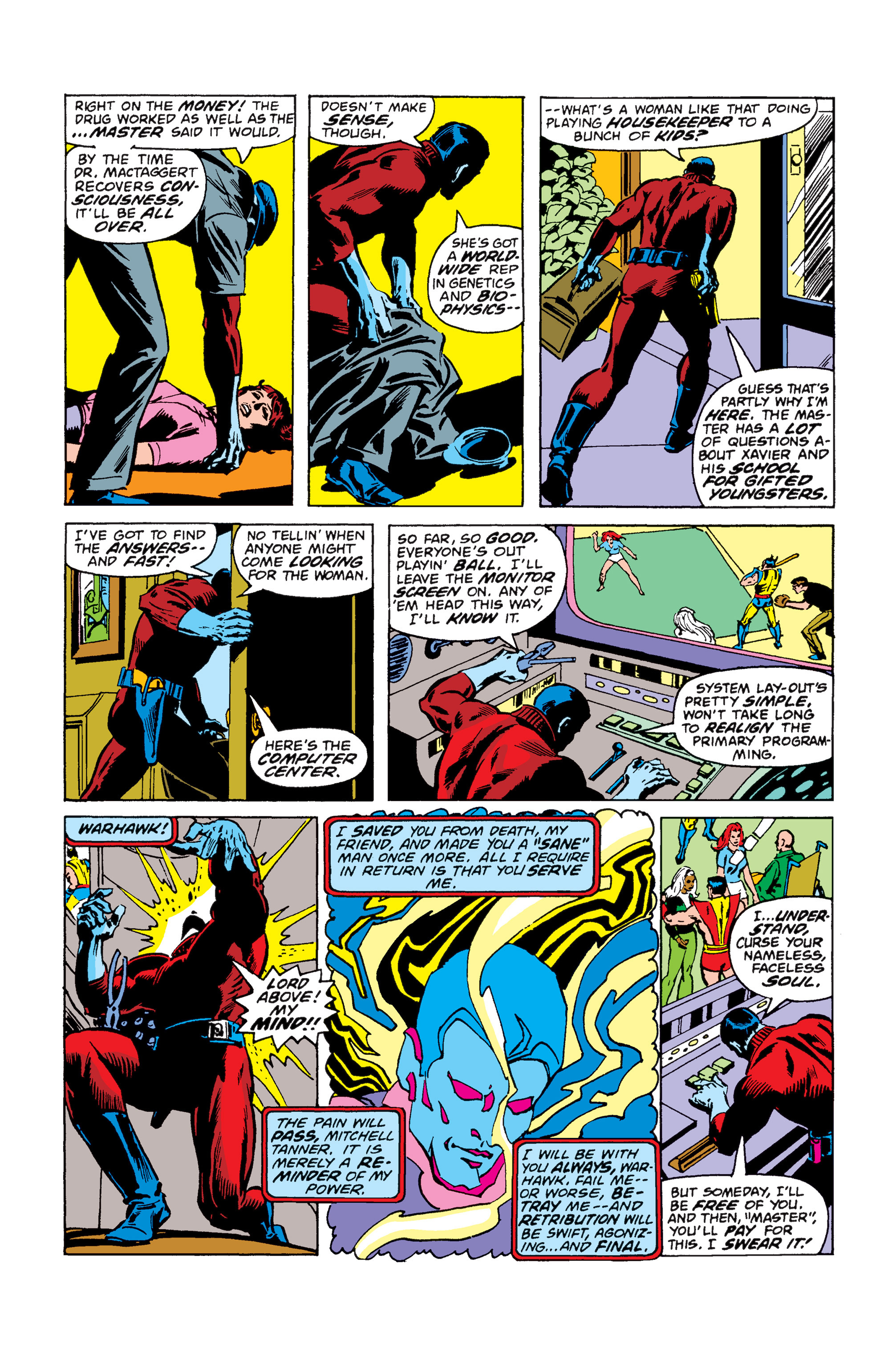 Read online Uncanny X-Men (1963) comic -  Issue #110 - 6