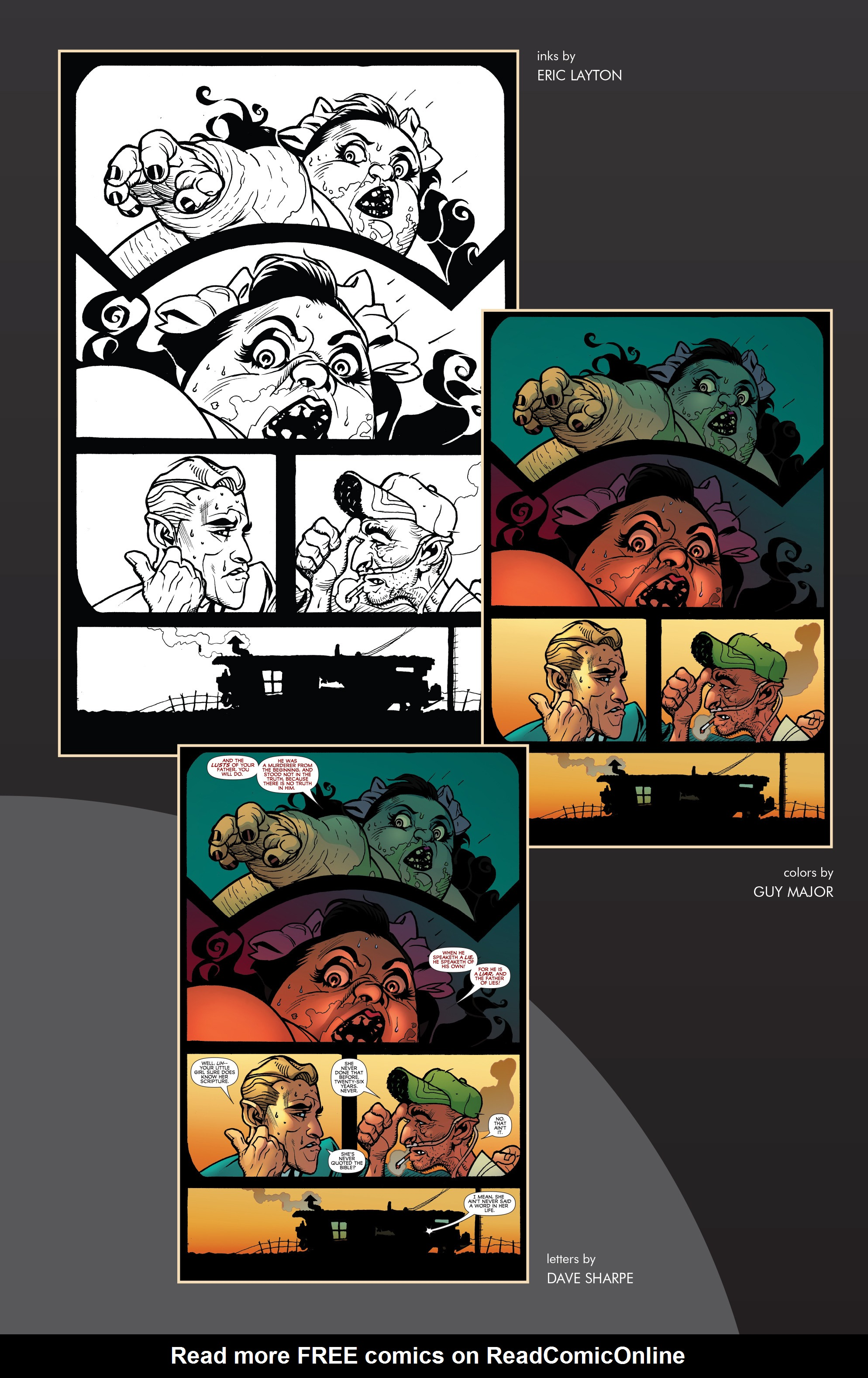 Read online Blood Blister comic -  Issue #1 - 30