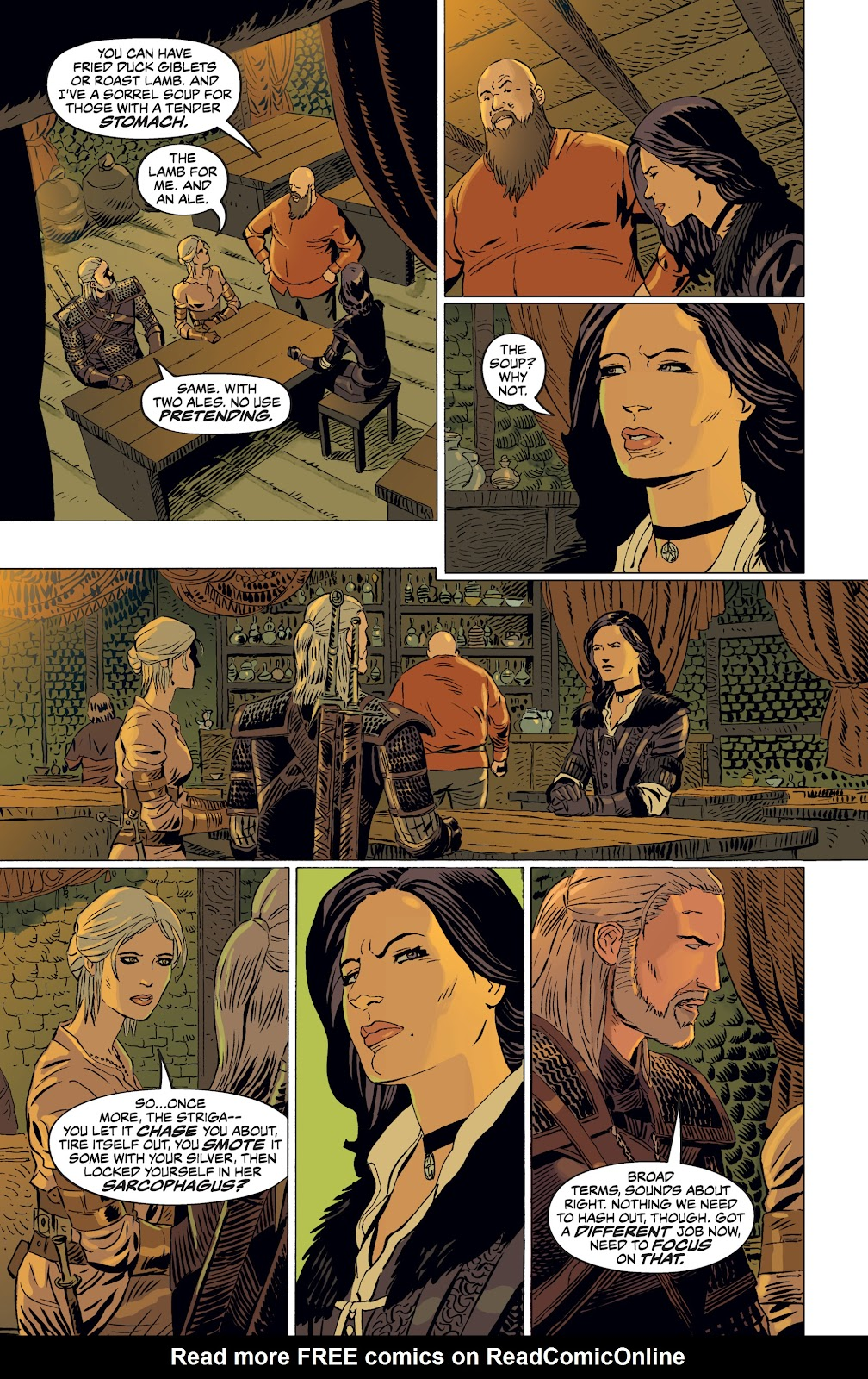 Read online The Witcher Omnibus comic -  Issue # TPB (Part 4) - 66