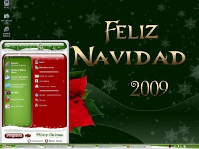 Tema de Navidad Para Windows XP