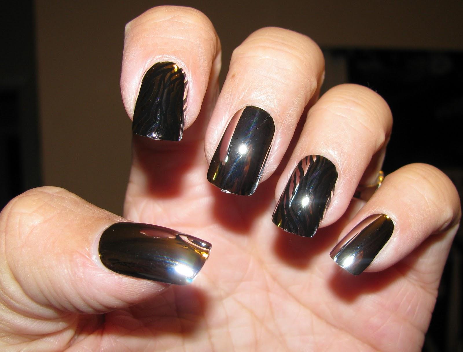 Nail39d Polish39d Chrome Nails
