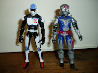 Kicker and Cobra Commander