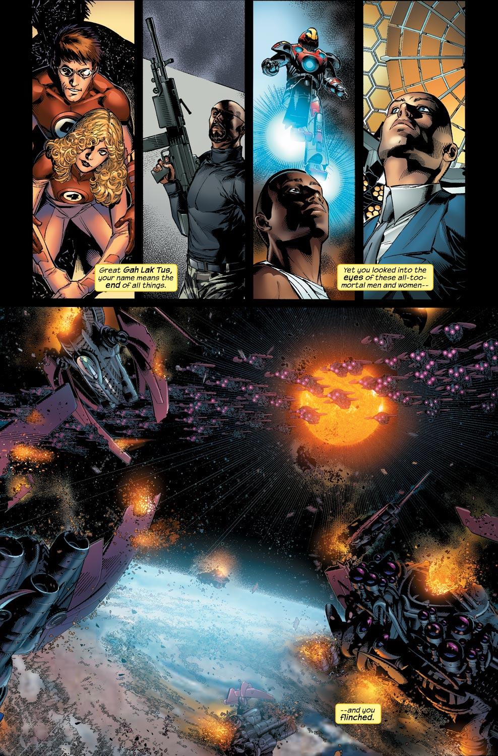 Read online Ultimate Vision comic -  Issue #1 - 5