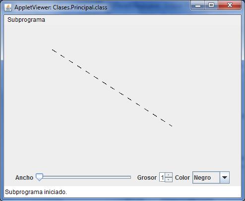 Linea Punteada   My Java Zone