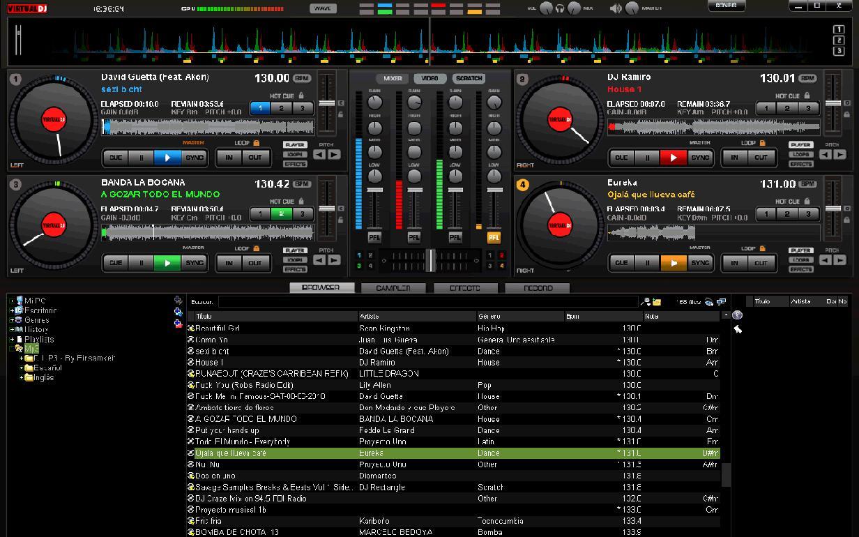 Virtual DJ 7 FULL + Crack + Plugins + Sound Effects