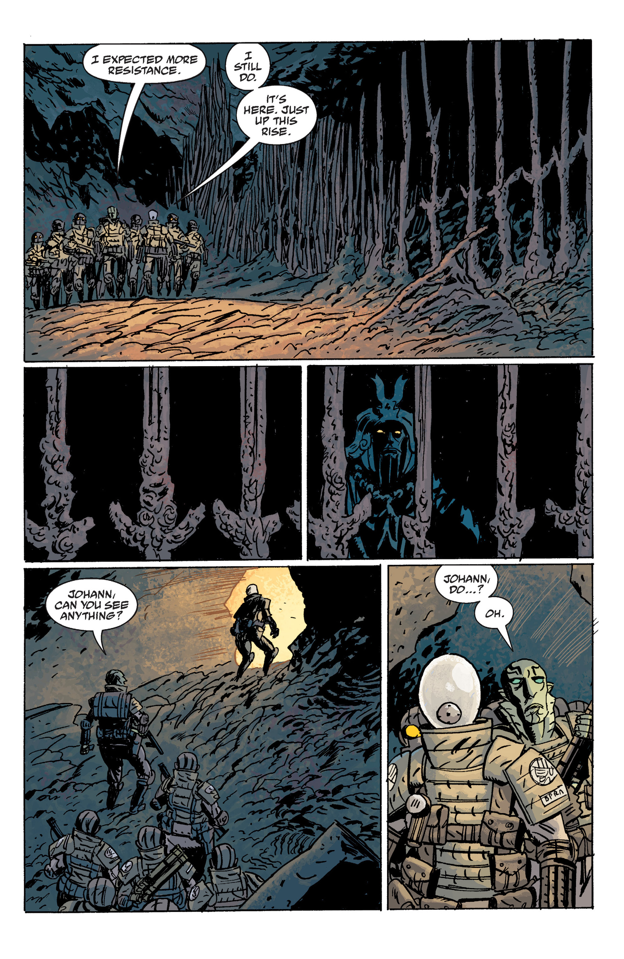 Read online B.P.R.D. (2003) comic -  Issue # TPB 10 - 106