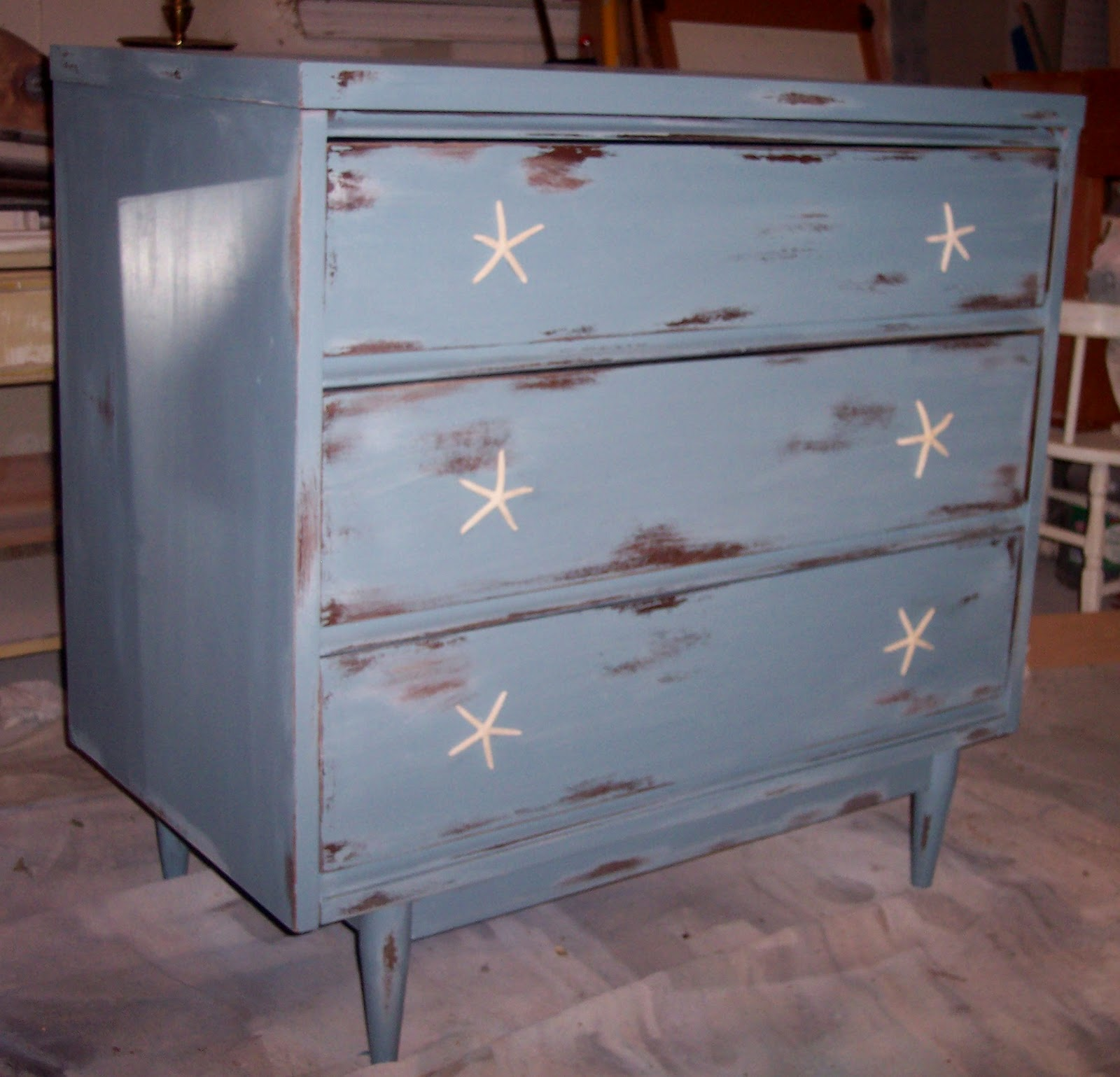 Well-known Uniquely Chic Furniture: Rustic Beach House Chic Dresser WH35