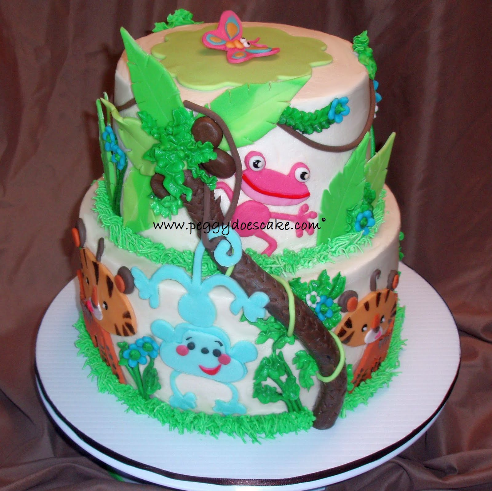 Peggy Does Cake Molly S Fisher Price Rainforest Baby