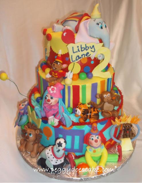 Southern Blue Celebrations Circus Cake Ideas