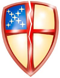 episcopal anglican church shield neighbors looking liberal classically mine iron heart