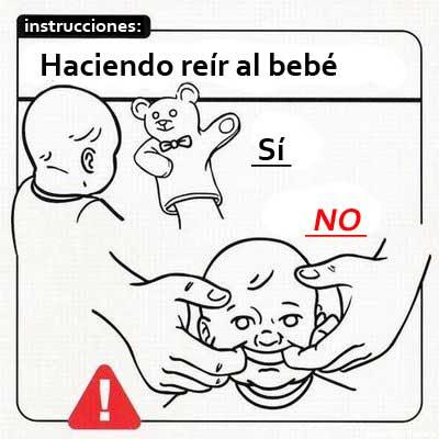 CBTIS225: instrucctivo ilustrado de como cuidar un bebe
