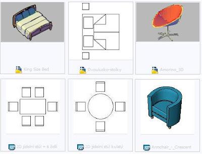 blocos 3d para autocad