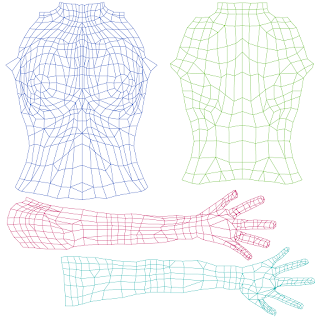 Seshat czeret the theory of second life skin and clothing for Chip midnight templates