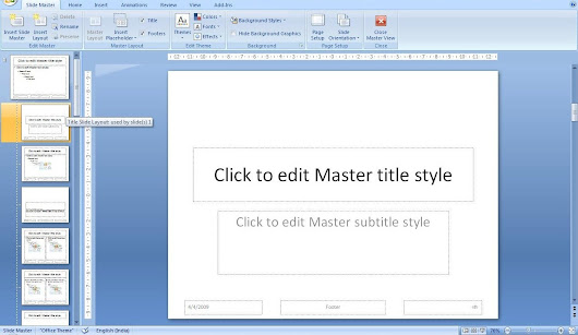 MS Powerpoint: Change the font size of all slides (within 10 seconds)