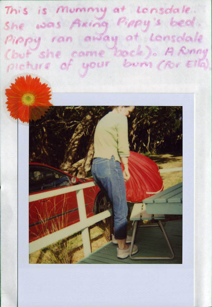 Polaroid Diary of a small child [img 05] ...