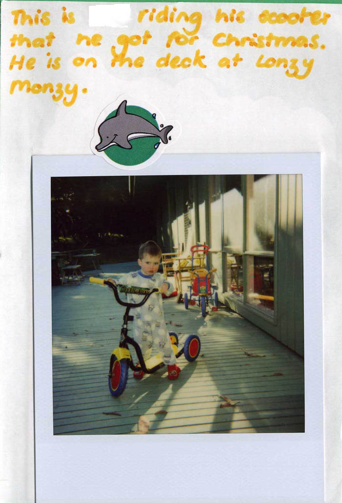 Polaroid Diary of a small child [img 06] ...
