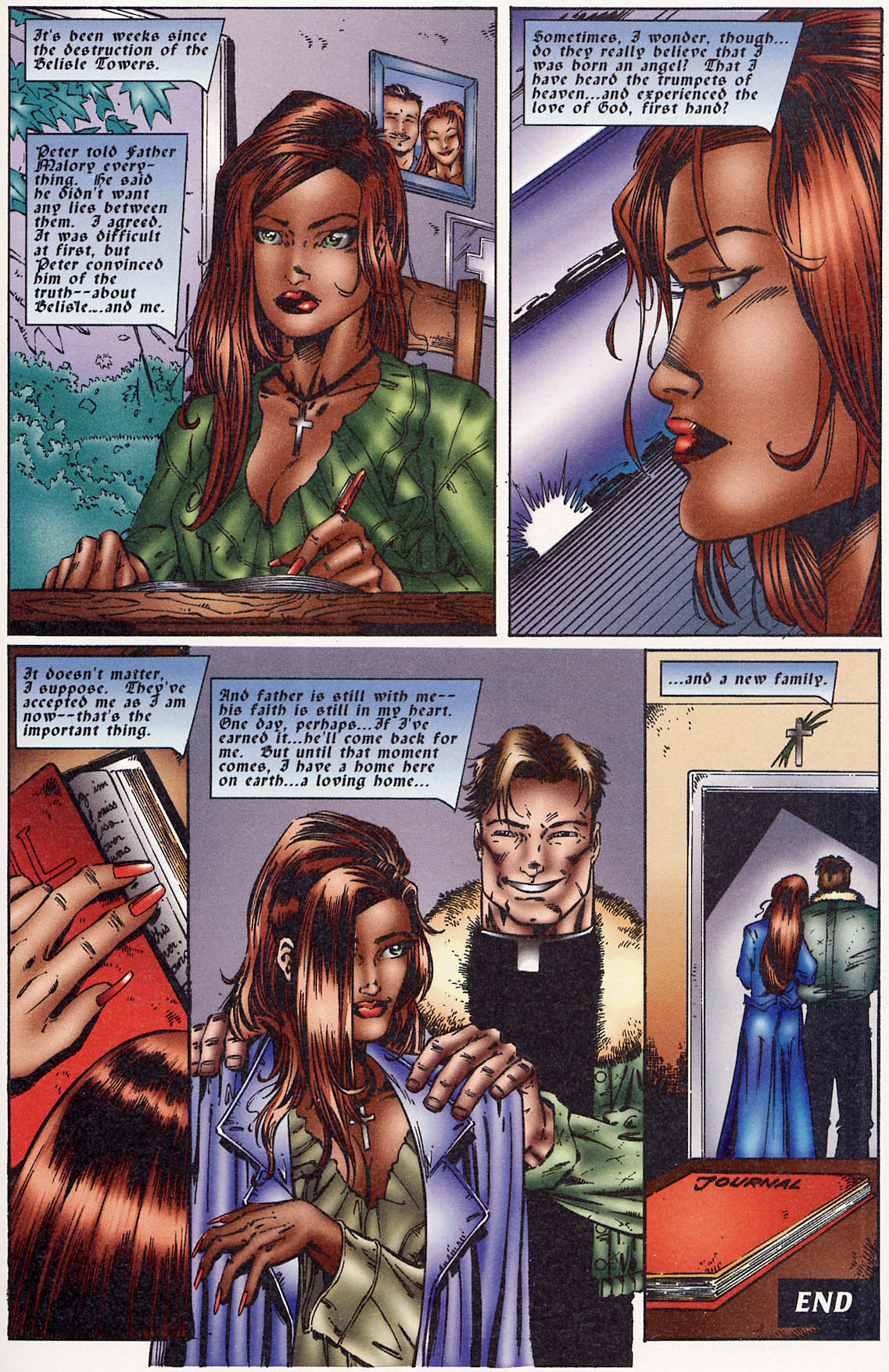 Read online Avengelyne (1995) comic -  Issue #3 - 25