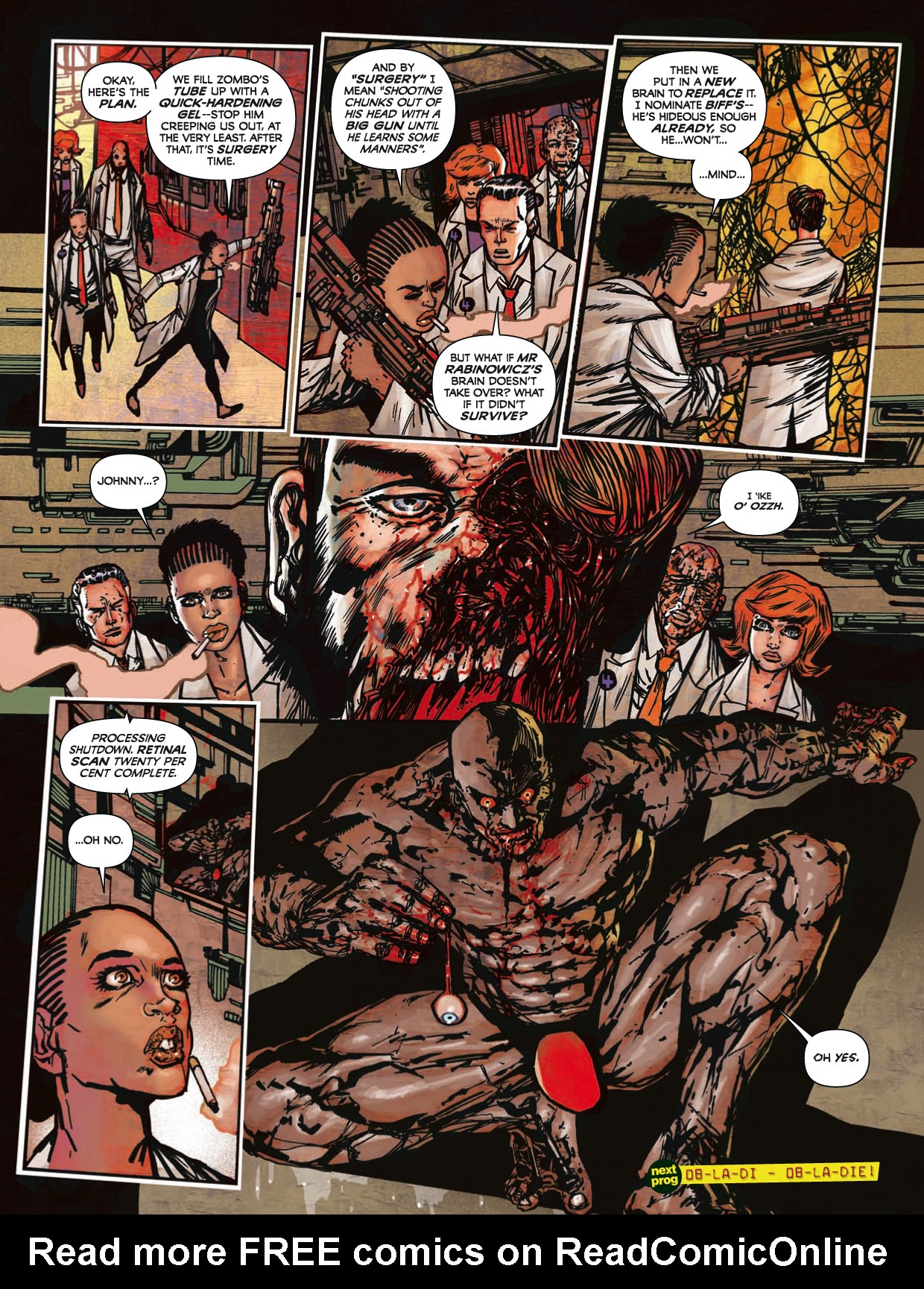 Read online 2000 AD comic -  Issue #1746 - 155