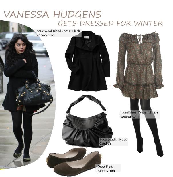 Vanessa Hudgens Winter Outfits | Car Interior Design