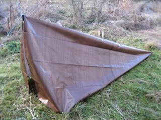 Live for Improvement: DIY: Emergency Tarp Tent