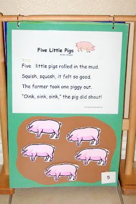 Explorations Five Little Pigs