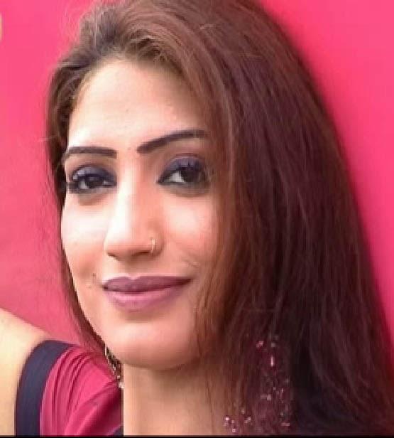 Pakistani Pathan actress Kiran Khan