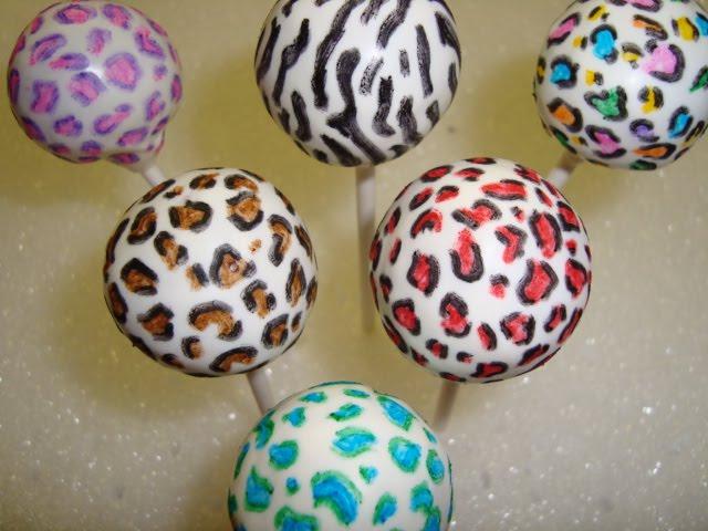 Bliss Hawai I Cake Pops Amp Truffles Llc Leopard And