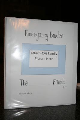 One of a Kind: Emergency Binder Kits