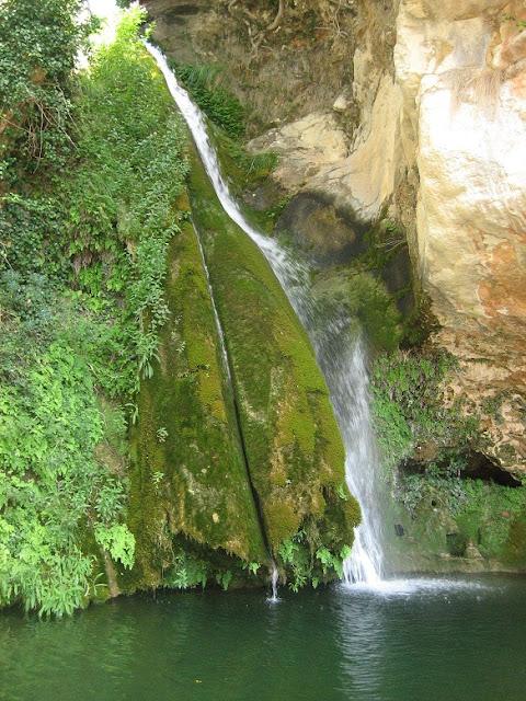 Penyagolosa cascada riu Carbo