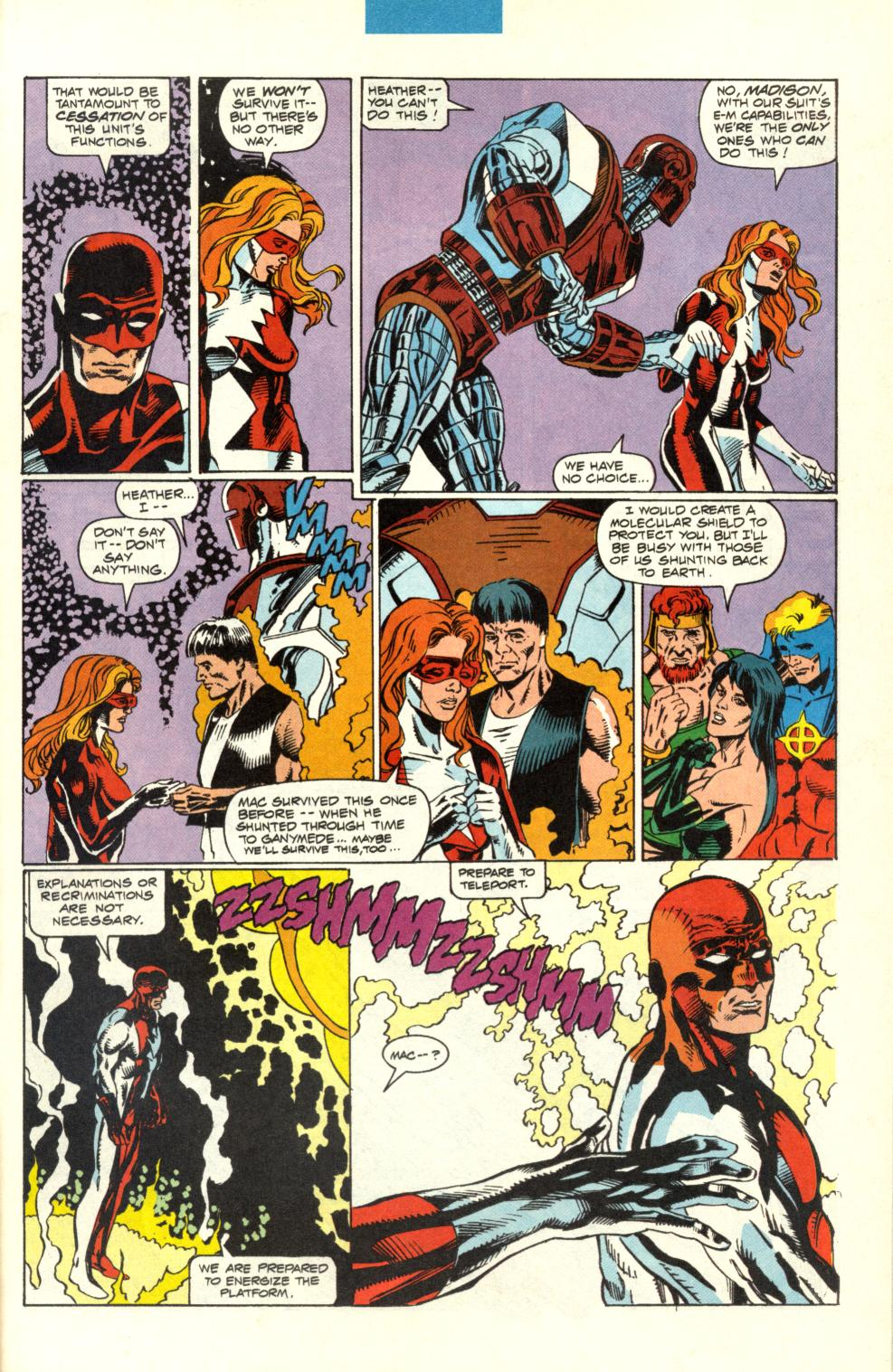 Read online Alpha Flight (1983) comic -  Issue #100 - 34