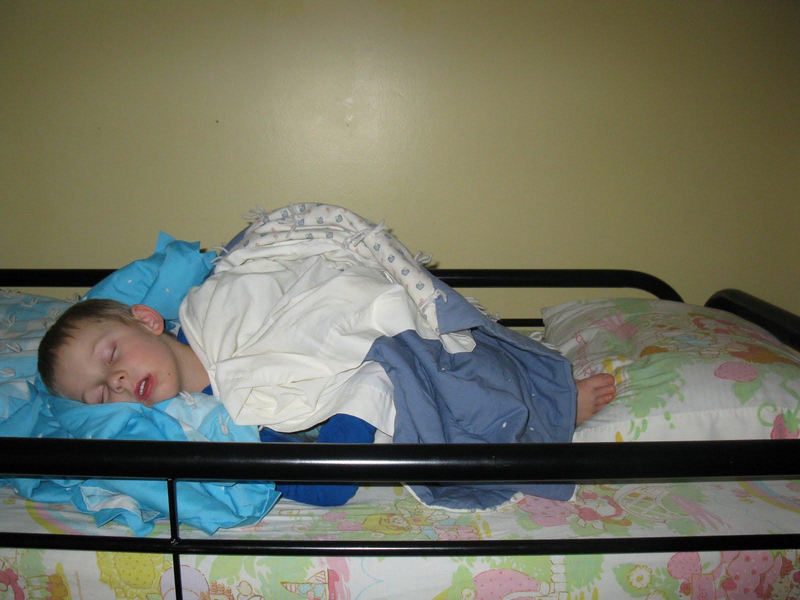 Dobb Family Blog Strange Sleeping Spots