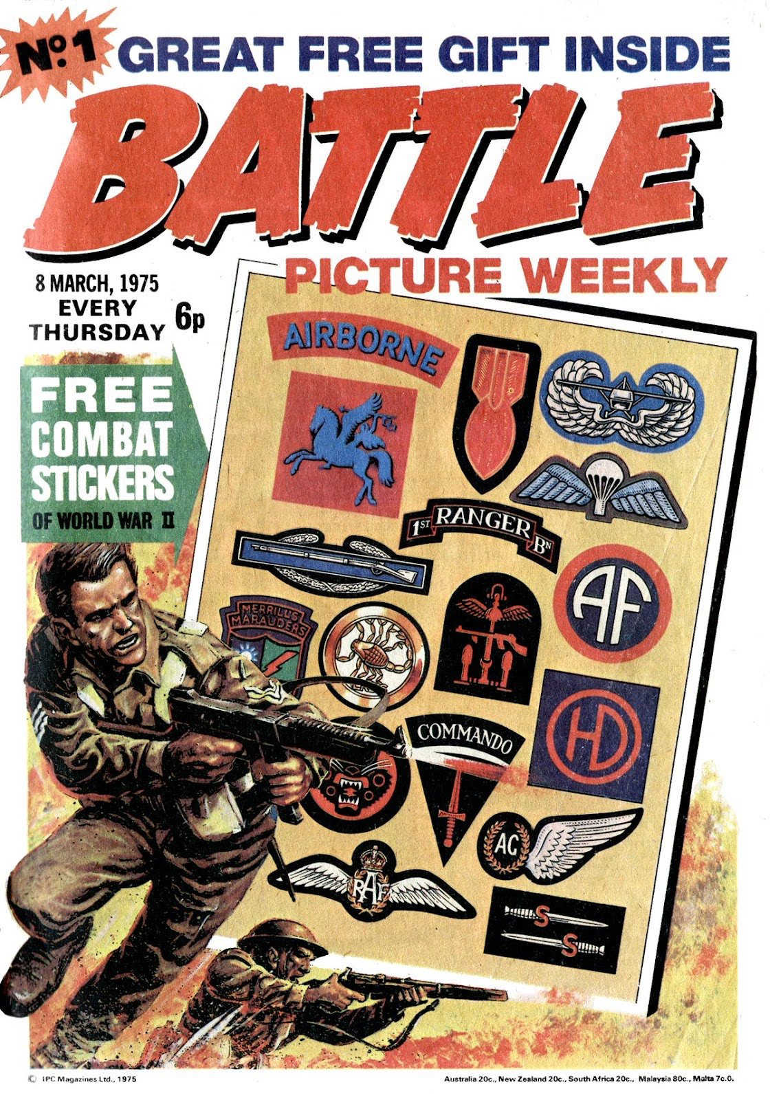 Battle Picture Weekly 1 Page 1