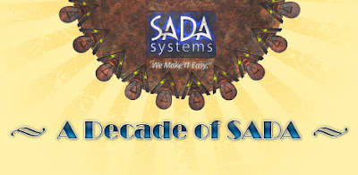 10 Years in business for SADA