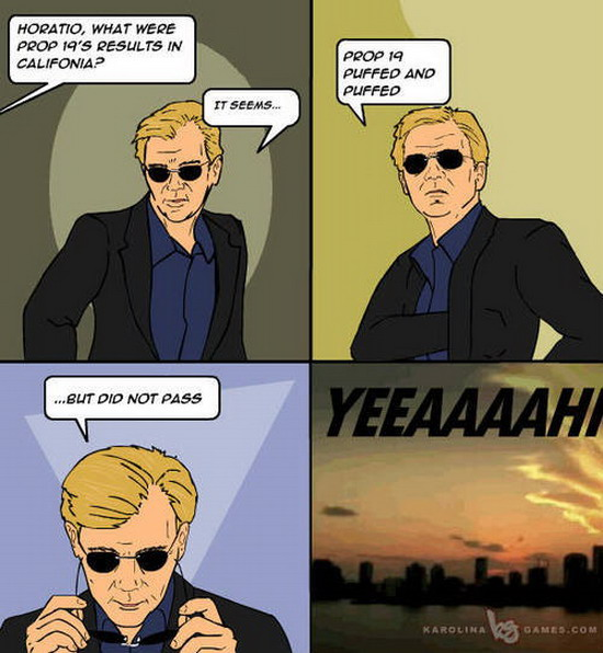 Horatio caine on prop