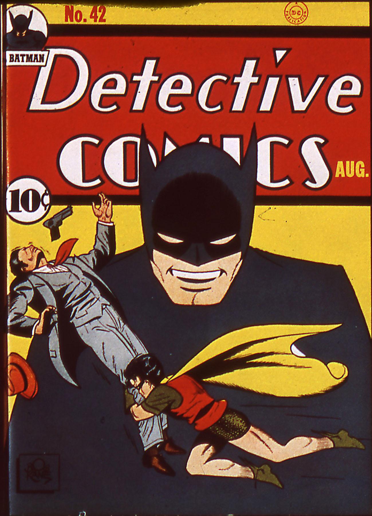 Detective Comics (1937) 42 Page 0