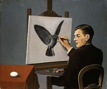 "René Magritte (1898-1967) ""Auto-retrato"""
