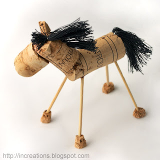 Animal Ornaments Craft Horse Dog