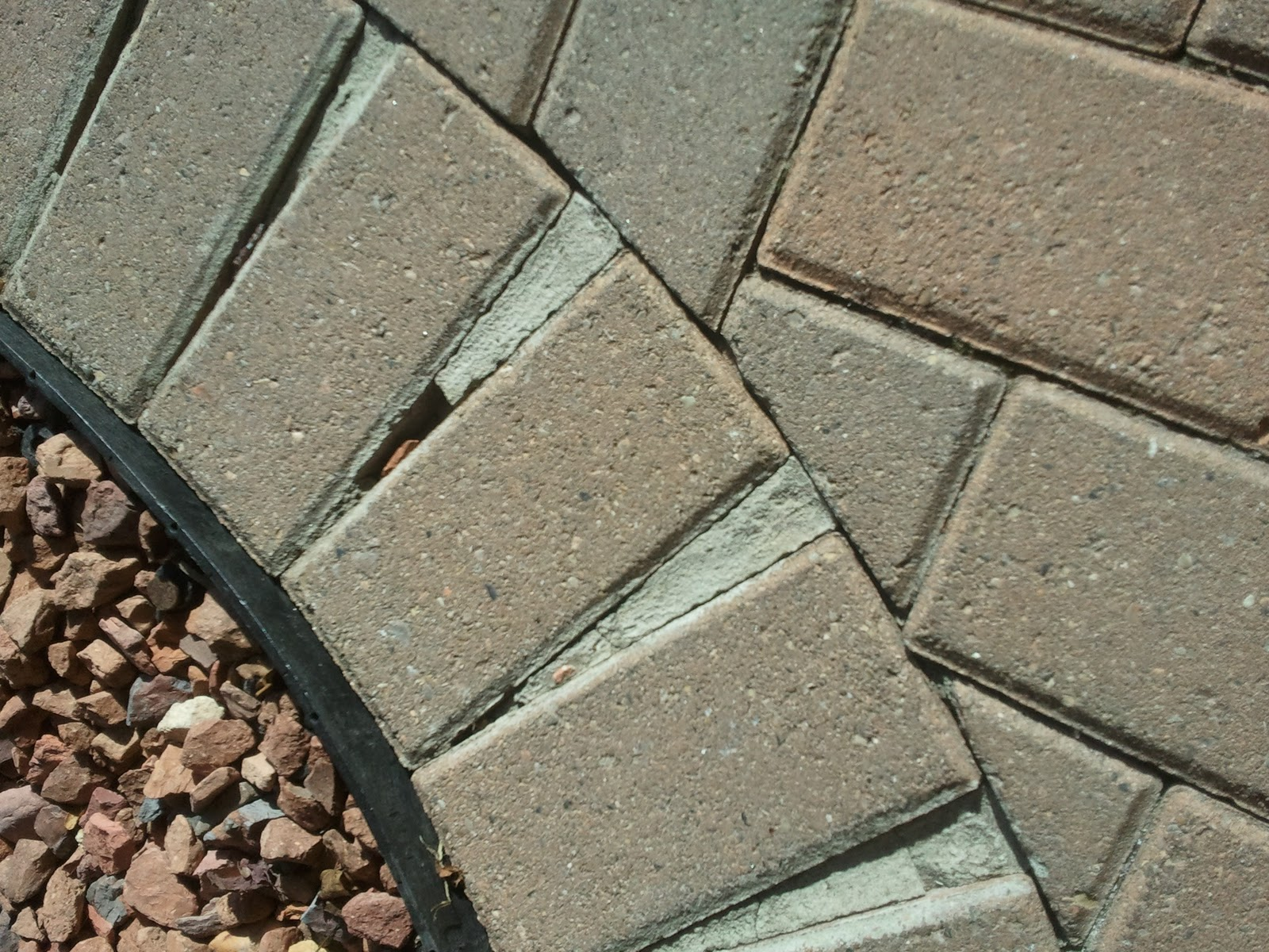 Brick Pavers Over Concrete Patio