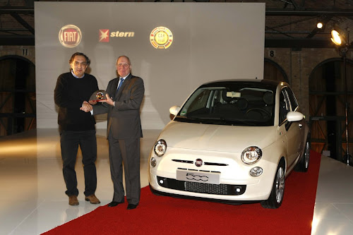 Fiat 500 European Car of The Year