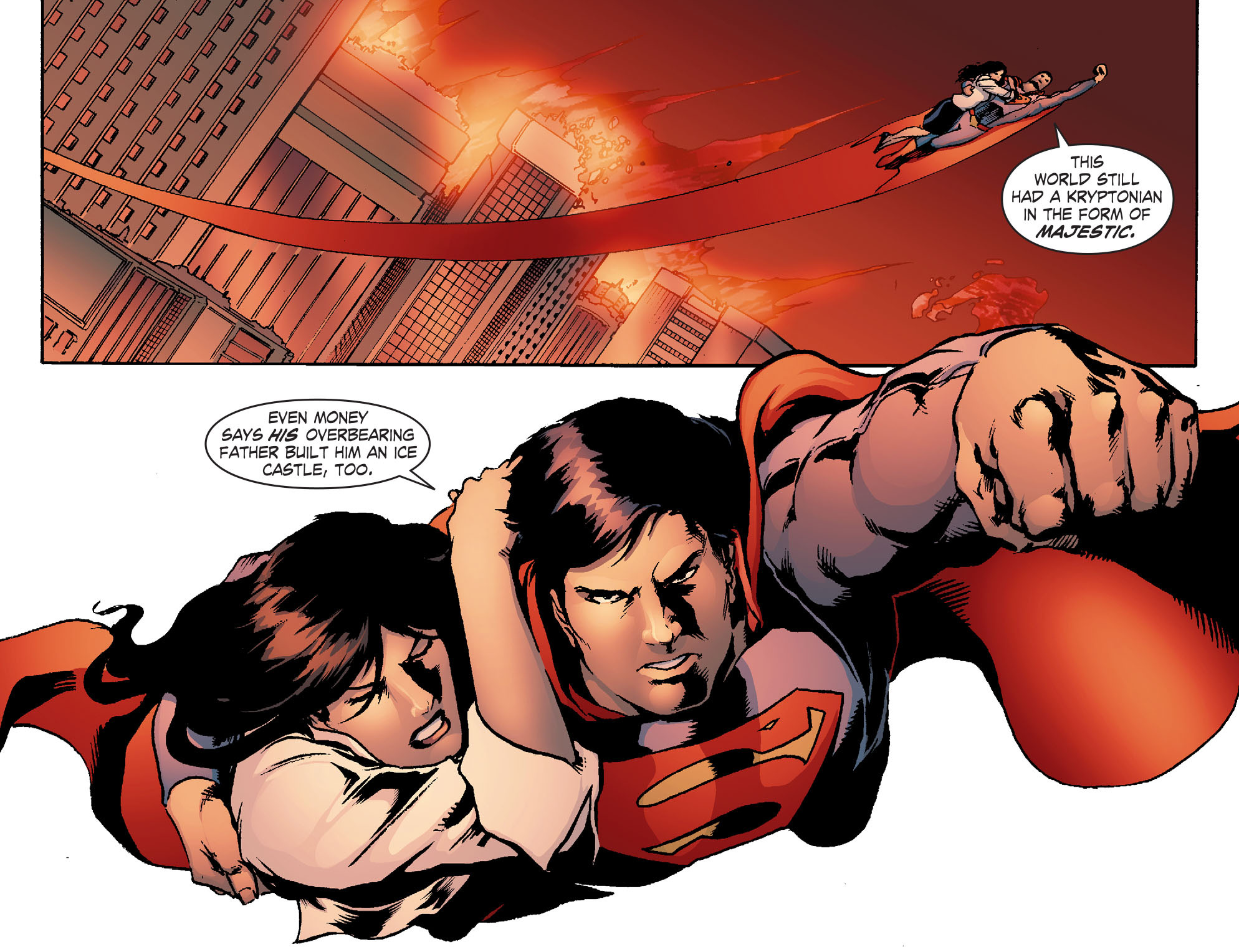 Read online Smallville: Chaos [II] comic -  Issue #4 - 17