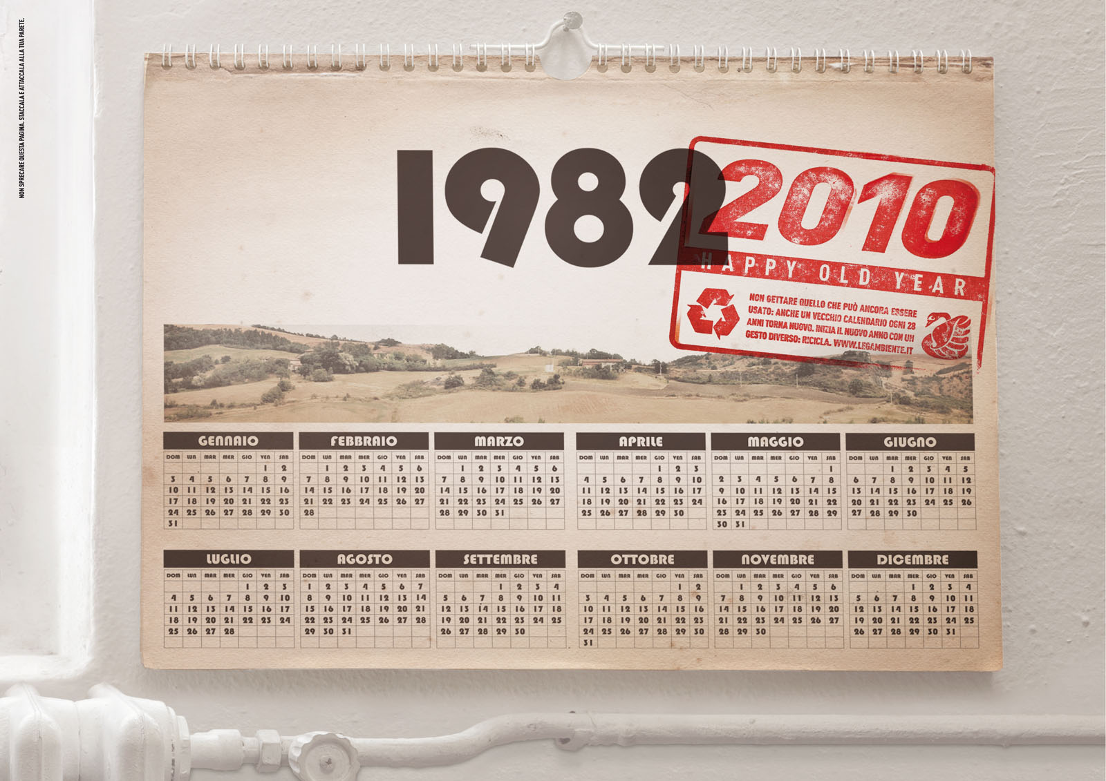 Calendario 1949.One Thousand Scents The Lull 1982 1983