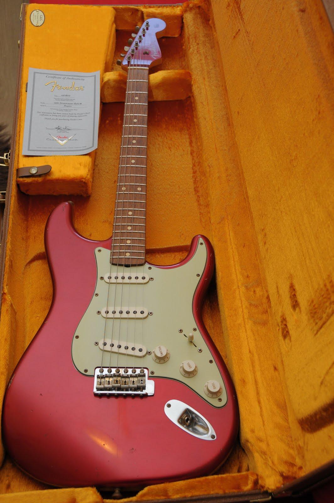 Guitar Woody Fender 60s Custom Shop Relic Strat Candy