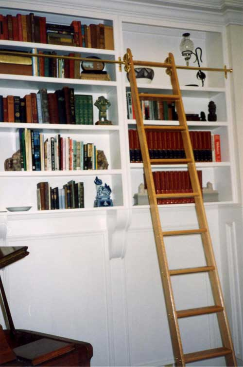 Bywater Boo Attic Find Library Ladder