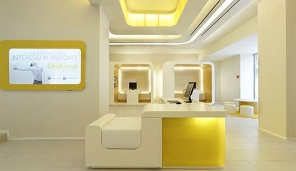 Luxurious and elegant interior design of modern banks | Architecture ...