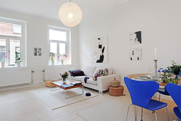 Architecture Homes: Swedish minimalist apartment modern ...