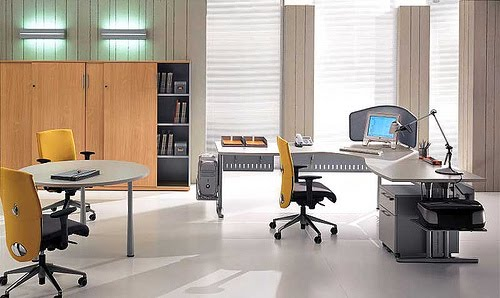 Architecture Homes Modern Italian Style Office Furniture