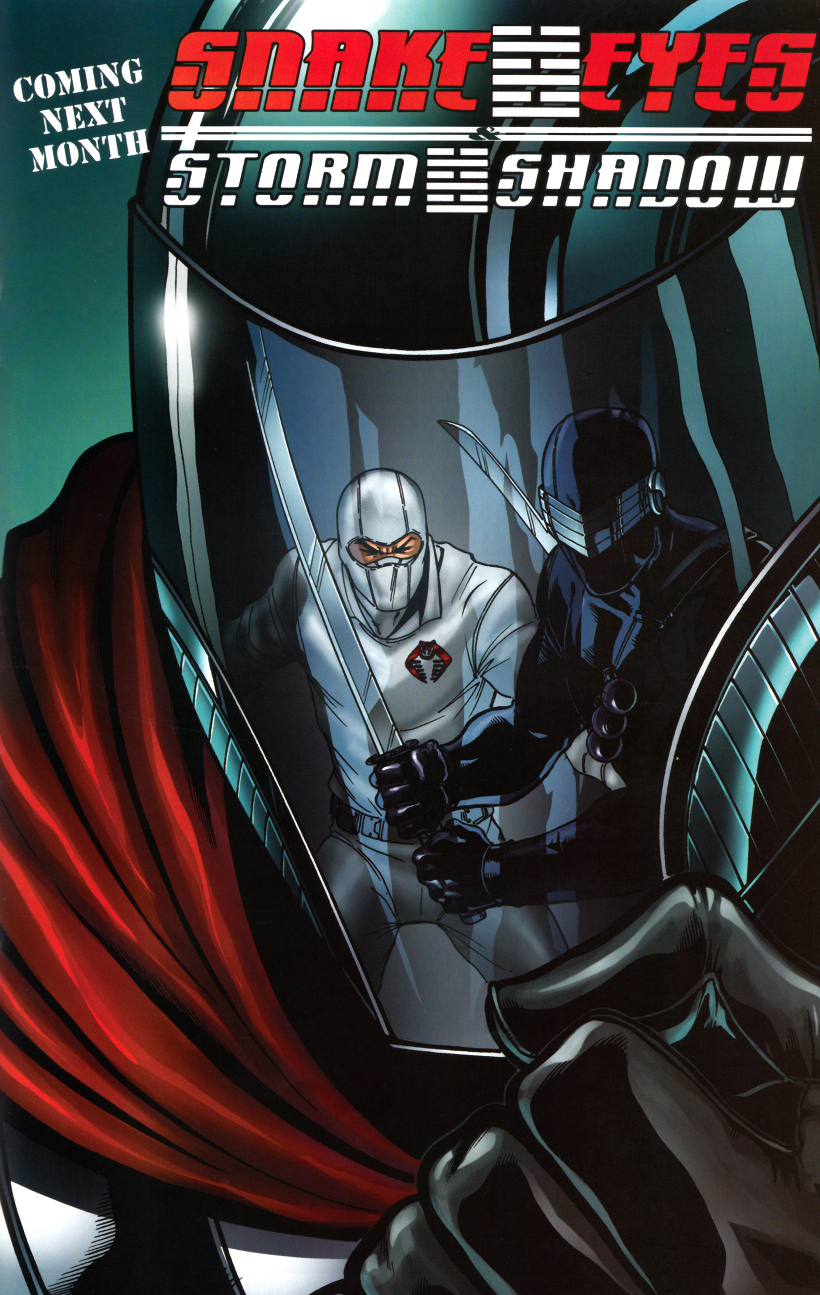 Read online Snake Eyes and Storm Shadow comic -  Issue #14 - 26