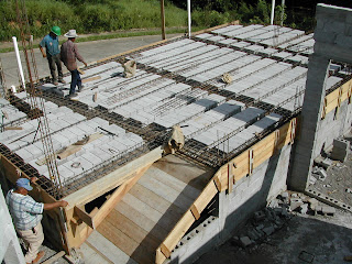 home construction, La Ceiba, Honduras