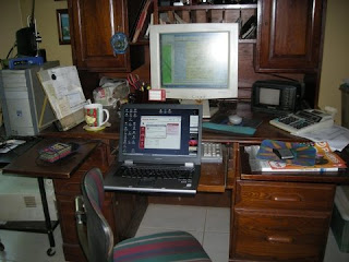 La Gringa's work area