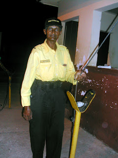 Honduran security guard, La Ceiba